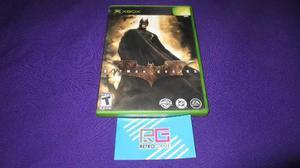 Batman Begins Xbox Clasico Compatible Con Xbox 360