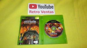 Batman Rise Of Sin Tzu Xbox Clasico Compatible Con Xbox 360