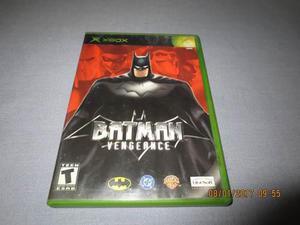 Batman Vengeance Xbox Clasico Primera Generacion