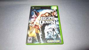 Beat Down Fists Of Vengeance Xbox Clasico **juegazo**