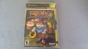Blinx The Time Sweeper Xbox Clasico *en Buen Estado*