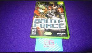 Brute Force Xbox Clasico **compatible Con Xbox 360** Enviogr