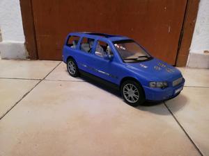 Camioneta volvo morada para muñecas Barbies