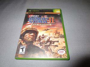 Conflict: Desert Storm 2 Xbox Clasico **juegazo**