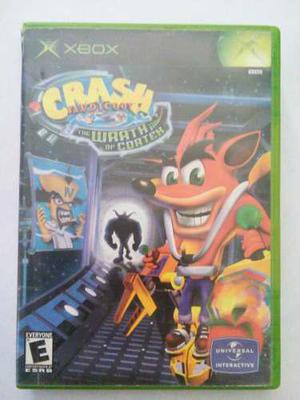 Crash Bandicoot Wrath Cortex Xbox Original Clasico