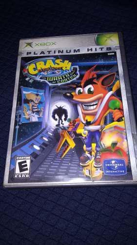 Crash Wrath Of Cortex Xbox Clasico