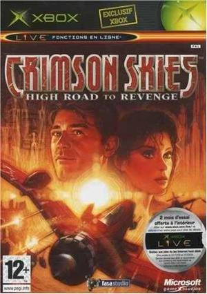 Crimson Skies High Road To Revenge Xbox Clasico Blakhelmet C