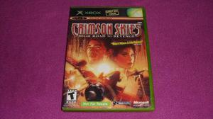 Crimson Skies High Road To Revenge Xbox Clasico Compat 360