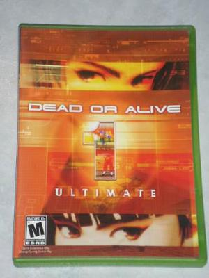 Dead Or Alive 1-ultimate Para X Box Clasico Seminuevo Remato