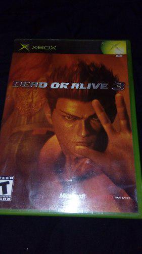 Dead Or Alive 3 Para Xbox Clasico