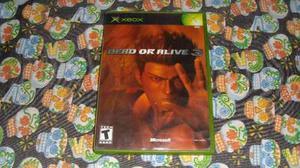 Dead Or Alive 3 Xbox Clasico Compatible Con Xbox 360