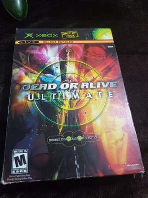 Dead Or Alive Ultimate, Doble Paxk, Xbox Clasic,envio Gratis