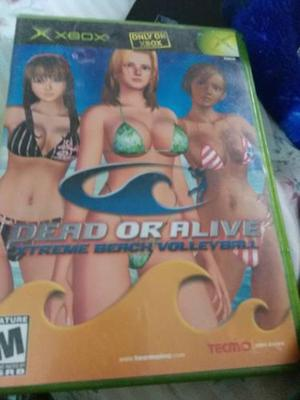 Dead Or Alive Xtreme Beach Volleyball X Box Clasico