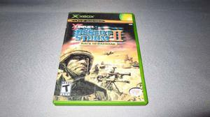 Desert Storm 2 Back To Baghdad Xbox Clasico *portada Custom*