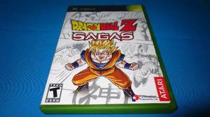 Dragon Ball Z Sagas Xbox Clasico **cd En Muy Buen Estado**