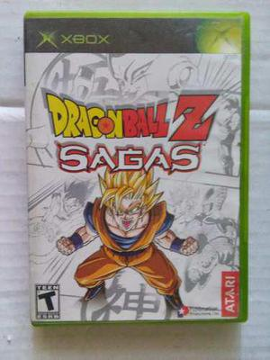 Dragon Ball Z Sagas Xbox Original Dbz Trqs Goku Vegeta