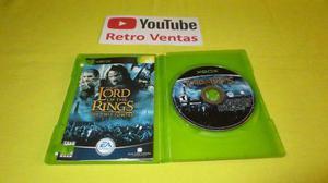 El Señor De Los Anillos Las Dos Torres Xbox Clasico 1