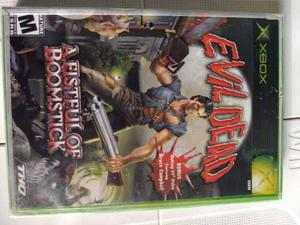 Evil Dead A Fistful Of Boomstick Xbox Clásico