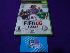 Fifa Soccer 06 Xbox Clasico Compatible Con Xbox 360