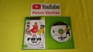 Fifa Soccer 2004 Xbox Clasico Compatible Con Xbox 360
