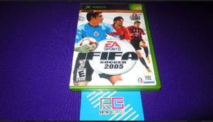 Fifa Soccer 2005 Xbox Clasico ***cd En Excelente Estado***