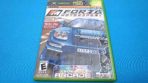 Forza Motorsport Xbox Clasico Com Xbox 360 *cd Excelente*