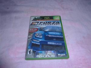 Forza Motorsport Xbox Clasico Compatible Con Xbox 360