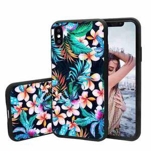 Funda Iphone X, Tropical Palm Tree Leaves Funda Iphone X Cas