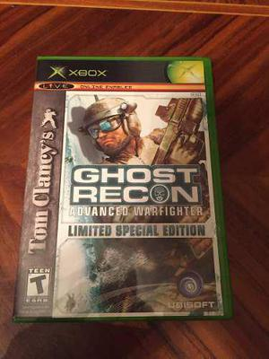 Ghost Recon Advanced Warfighter Limited Edition Xbox