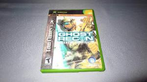 Ghost Recon Advanced Warfighter Xbox Clasico Portada Custom