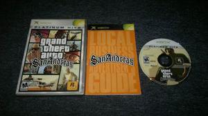 Grand Theft Auto San Andreas Completo Xbox Normal,checalo.