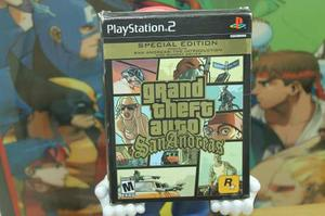 Grand Theft Auto San Andreas Special Edition Playstation 2