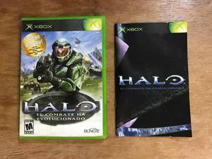 Halo 1 Completo Para Xbox Clasico En Buen Estado