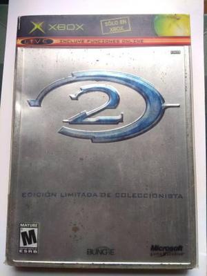 Halo 2 Edicion De Coleccionista X Box Clasico