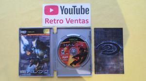 Halo 2 Edicion Metalica Xbox Clasico Compatible Con Xbox 360