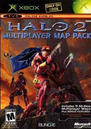 Halo 2 Multiplayer Map Pack - Xbox Clasico Blakhelmet Sp