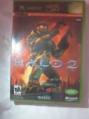 Halo 2 Para Xbox Clasico Original Nuevo Envio Gratis