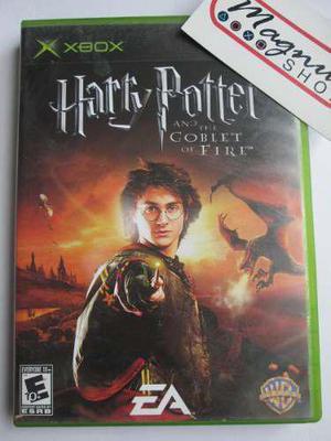 Harry Potter Globet Fire Xbox Clasico Primera Generacion