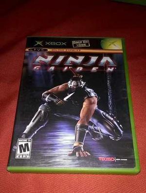 Impecable Ninja Gaiden Xbox Clasico Para Colecionistas