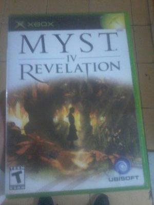 Juego De Myst Iv Revelation En Buen Estado Para Xbox Clasica