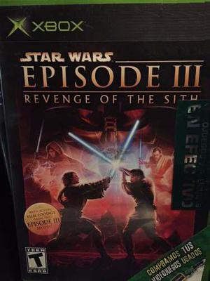 Juego Star Wars Episode 3 Revenge Of The Sight Xbox