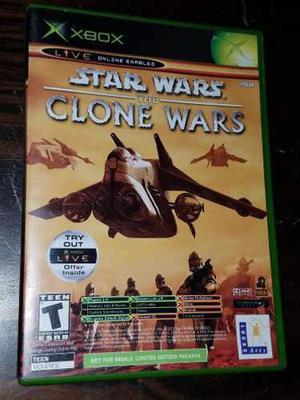 Juego Xbox Tetris Worlds / Star Wars The Clone Wars