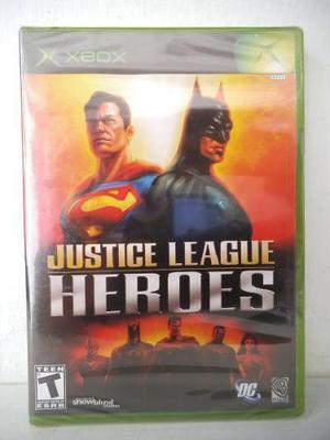 Justice League Heroes Liga De La Justicia Xbox Juego Fisico