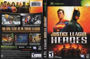 Justice League Heroes Para Xbox Clasico, Checalo!!