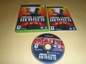 Justice League Heroes Xbox Clasico Buen Estado Funciona