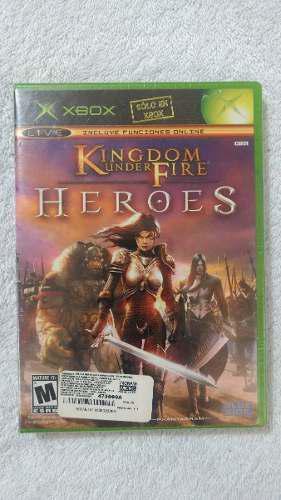 Kingdom Under Fire Heroes Para Xbox Clasico Oportunidad..!!