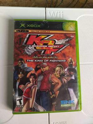 Kof Maximun Impact Maniax The King Of Fighters Xbox Clásico