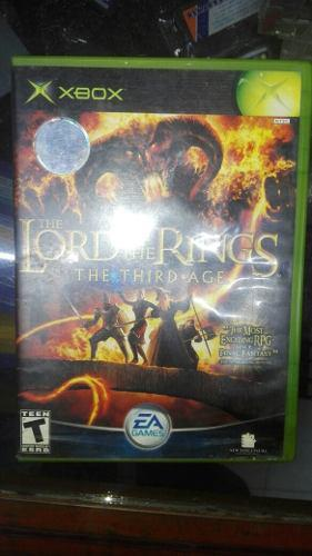 Lord Of The Rings The Third Age Para Tu Xbox Clásico **