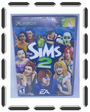 Los Sims 2 Xbox Clásico Manual Como Nuevo