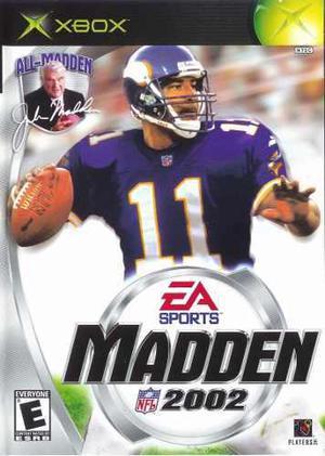 Madden 2002 Para Xbox Clasico Con Envio Gratis